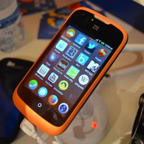ZTE Open el primer smartphone con Firefox OS