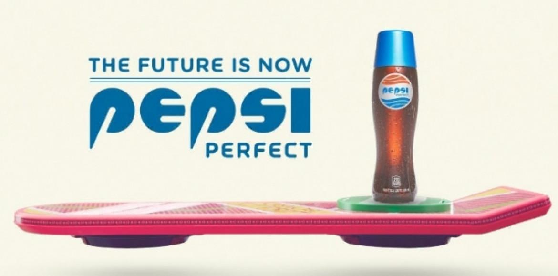 Se viene la Pepsi Perfect de Volver Al Futuro