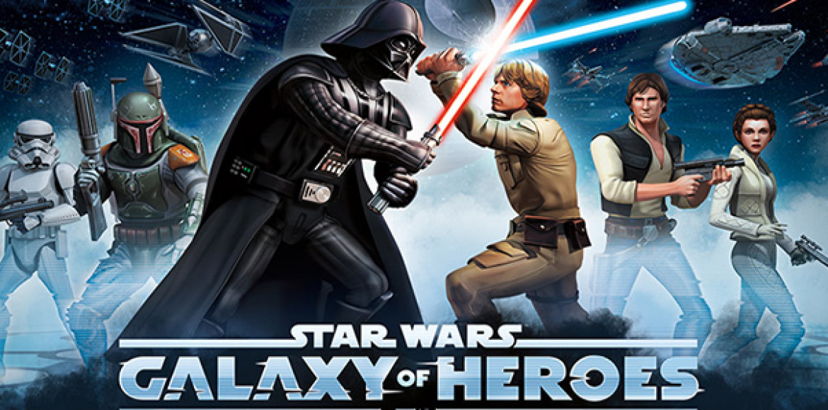 Star Wars: Galaxy of Heroes desembarca en Android
