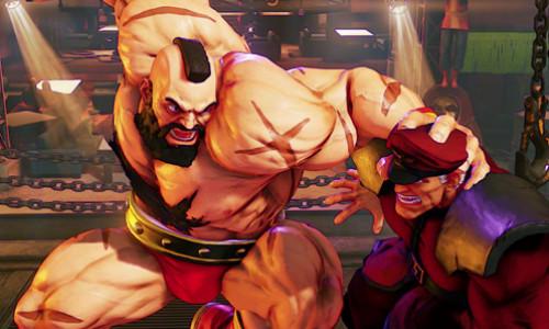 Tráiler de Zangief de Street Fighter V