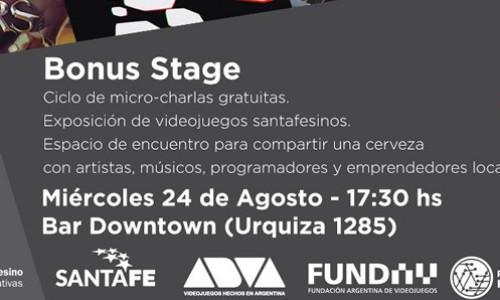 #BonusStage: Charlas gratuitas sobre producción de videojuegos